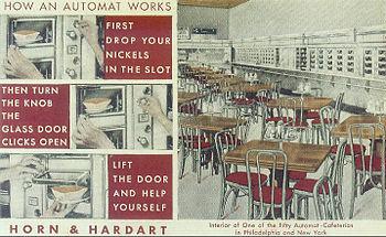 Horn & Hardart automat