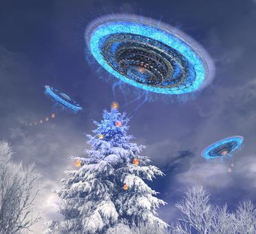 UFOs of Christmas Past