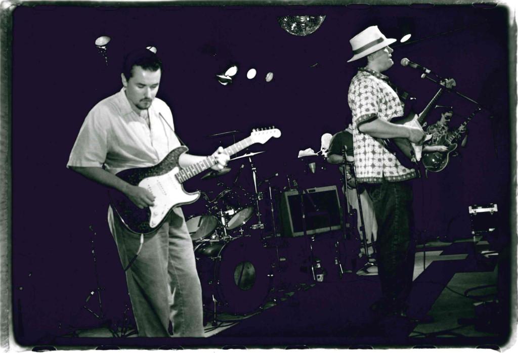 Jose Alvarez and Colin Aberdeen (1997) Michael Davis photo