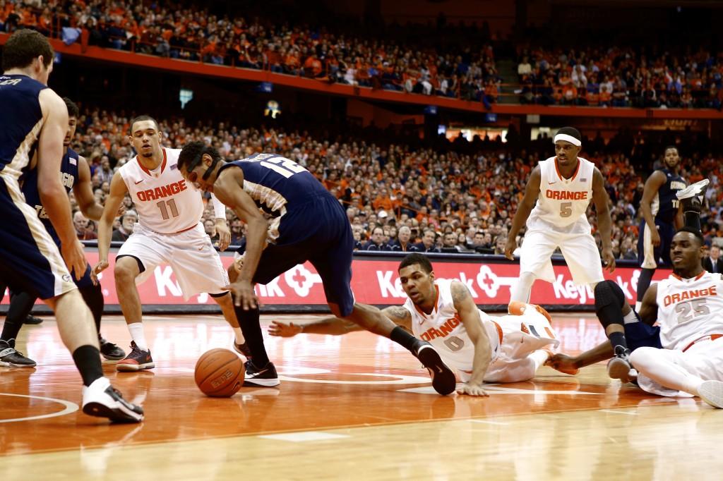 Slumping Orange win at Florida State, now heads to ACC tourney