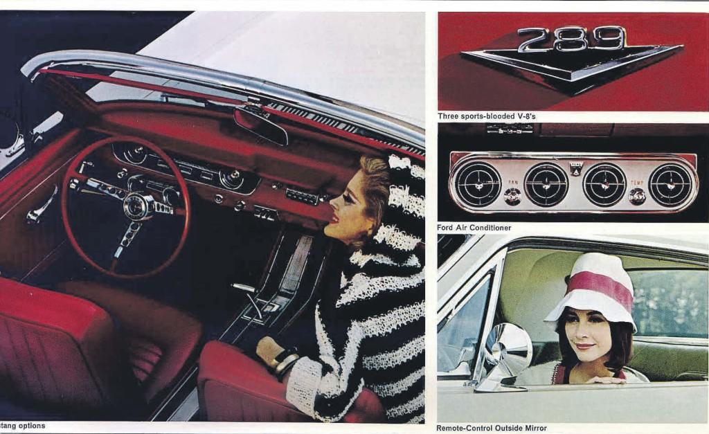 Original 1965 Ford Mustang Sales Brochure