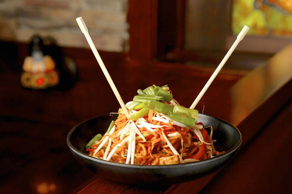 Thai Chicken Noodles.  Michael Davis Photo | Syracuse New Times