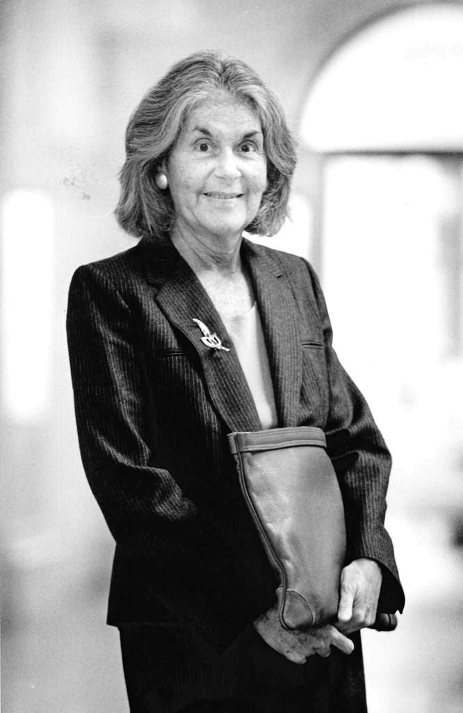 Karen DeCrow, 1937 - 2014.  Michael Davis Photo | Syracuse New Times