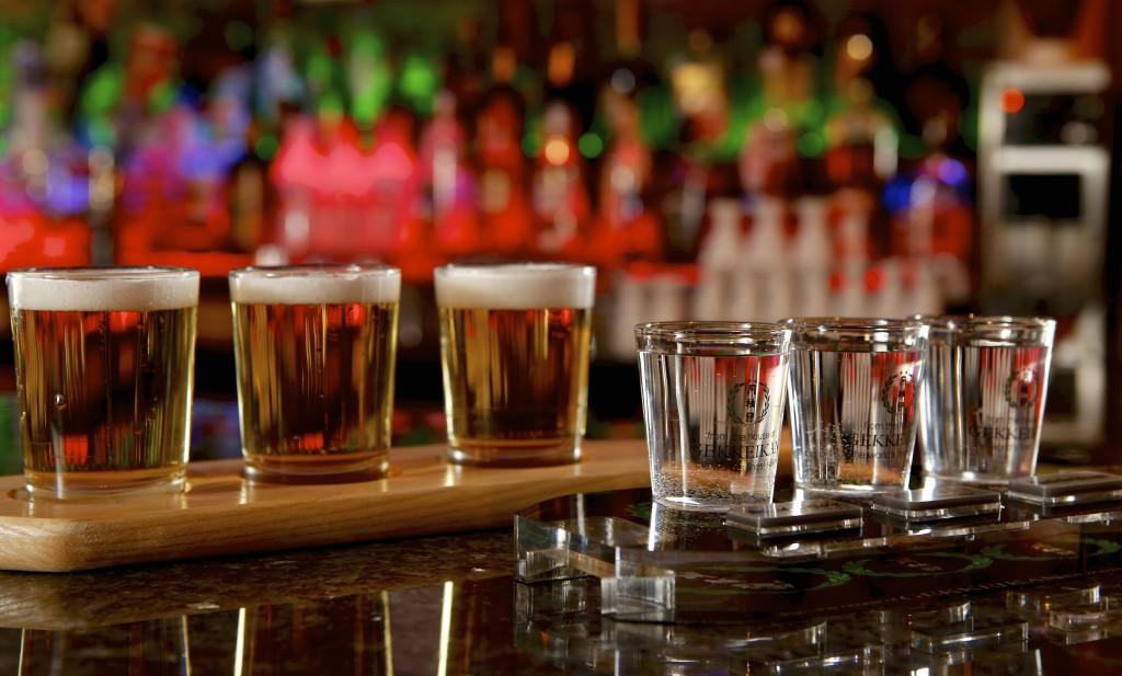 KOTO - Saki & Japanese Beer Flights. Michael Davis Photo   Syracuse New Times
