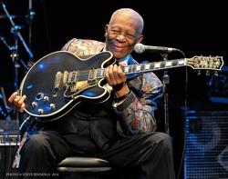 B.B. KING in concert (Photo © Steve Jennings)