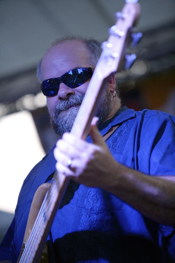 Los Blancos at Stage of Nations Blue Rain EcoFest 2014. Steve Winston. Michael Davis Photo