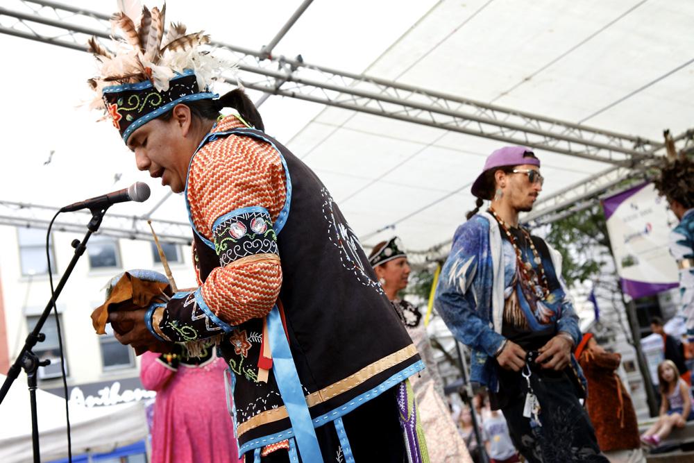 Stage of Nations Blue Rain EcoFest | Michael Davis Photo