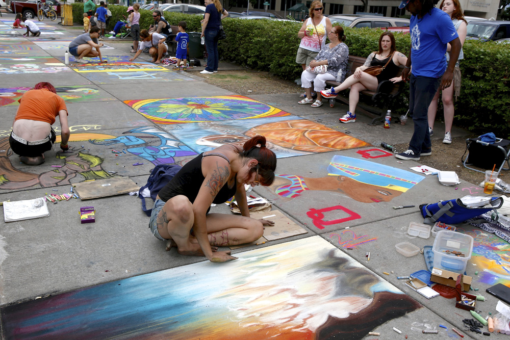 Street Painting 2014 | Michael Davis Photo