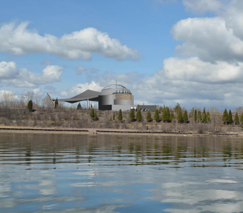 The Beacon Amphitheater Concept (from Conceptual Design Report)