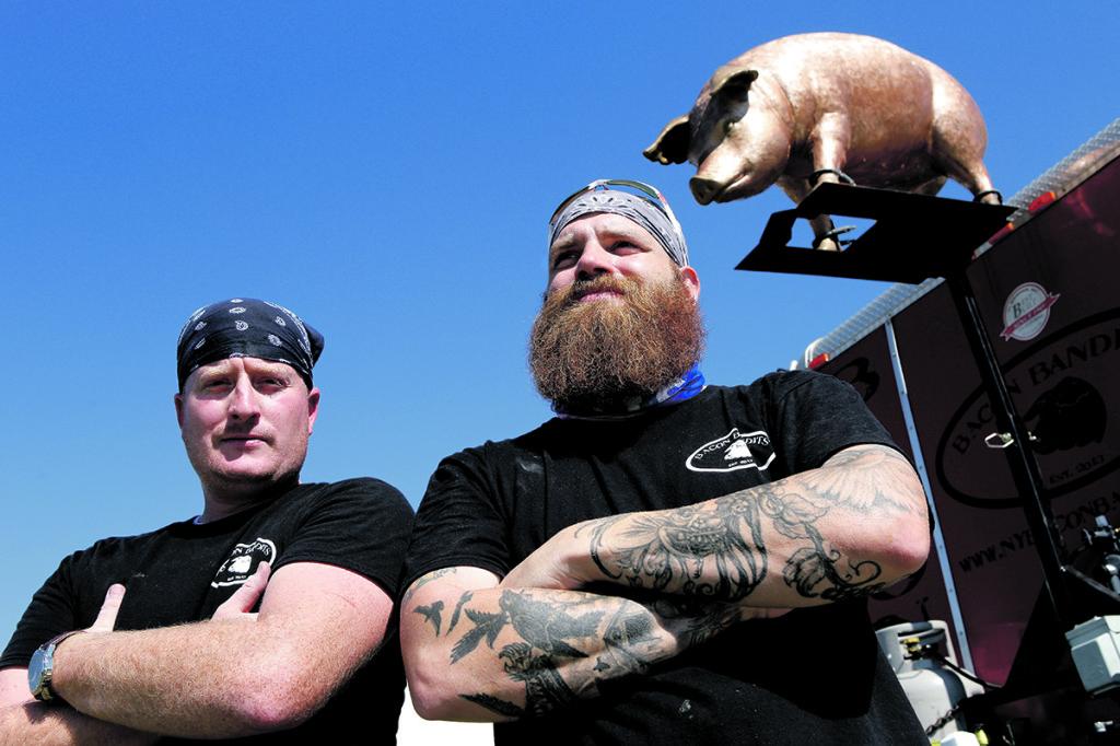 Bacon Bandits - Chris Doubock (l) & Gary Wurster