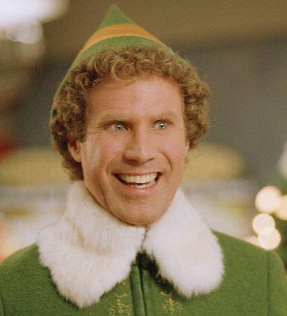 Will Ferrel as Buddy the elf Photo by Alan Markfield