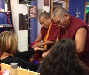Gifting of prayer cords