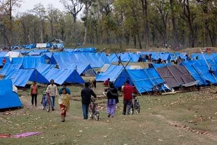 Bhutanese Refugee Camp. Photo: James Giambrone