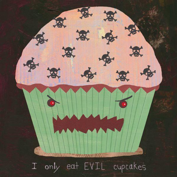 """Evil Cupcake"" by Jonas Sickler"