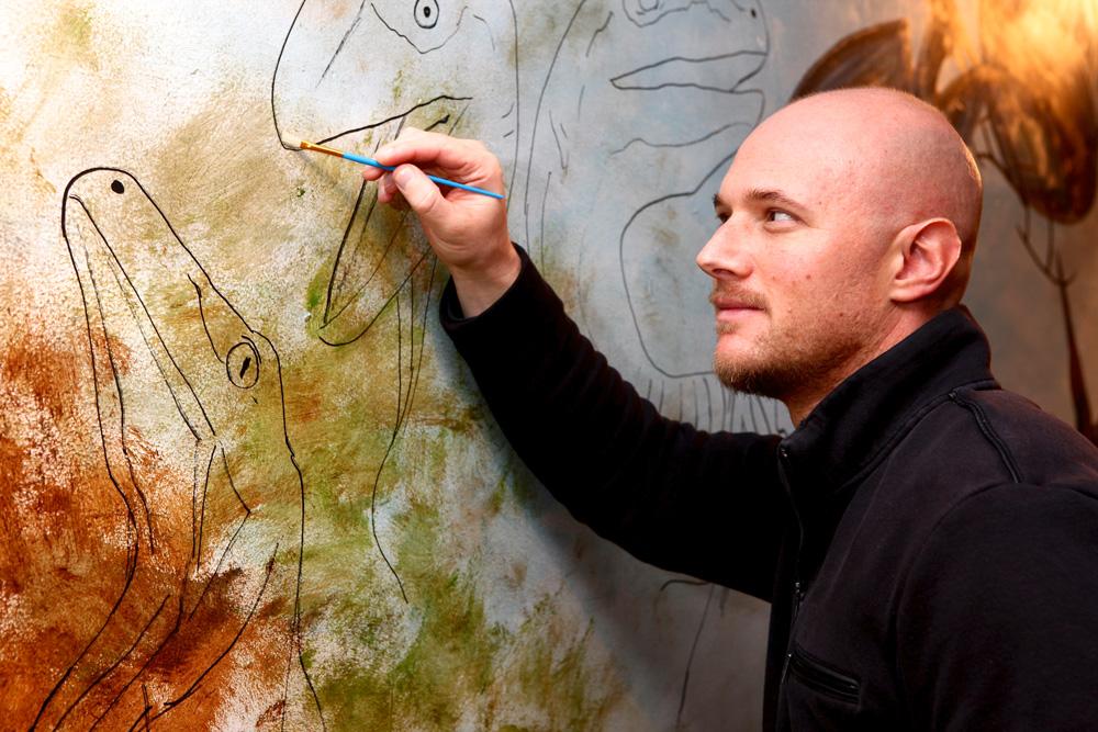 Michael Weismore, muralist