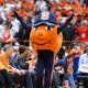 Otto the Orange at a game