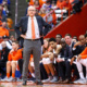 Syracuse University men's basketball coach Jim Boeheim