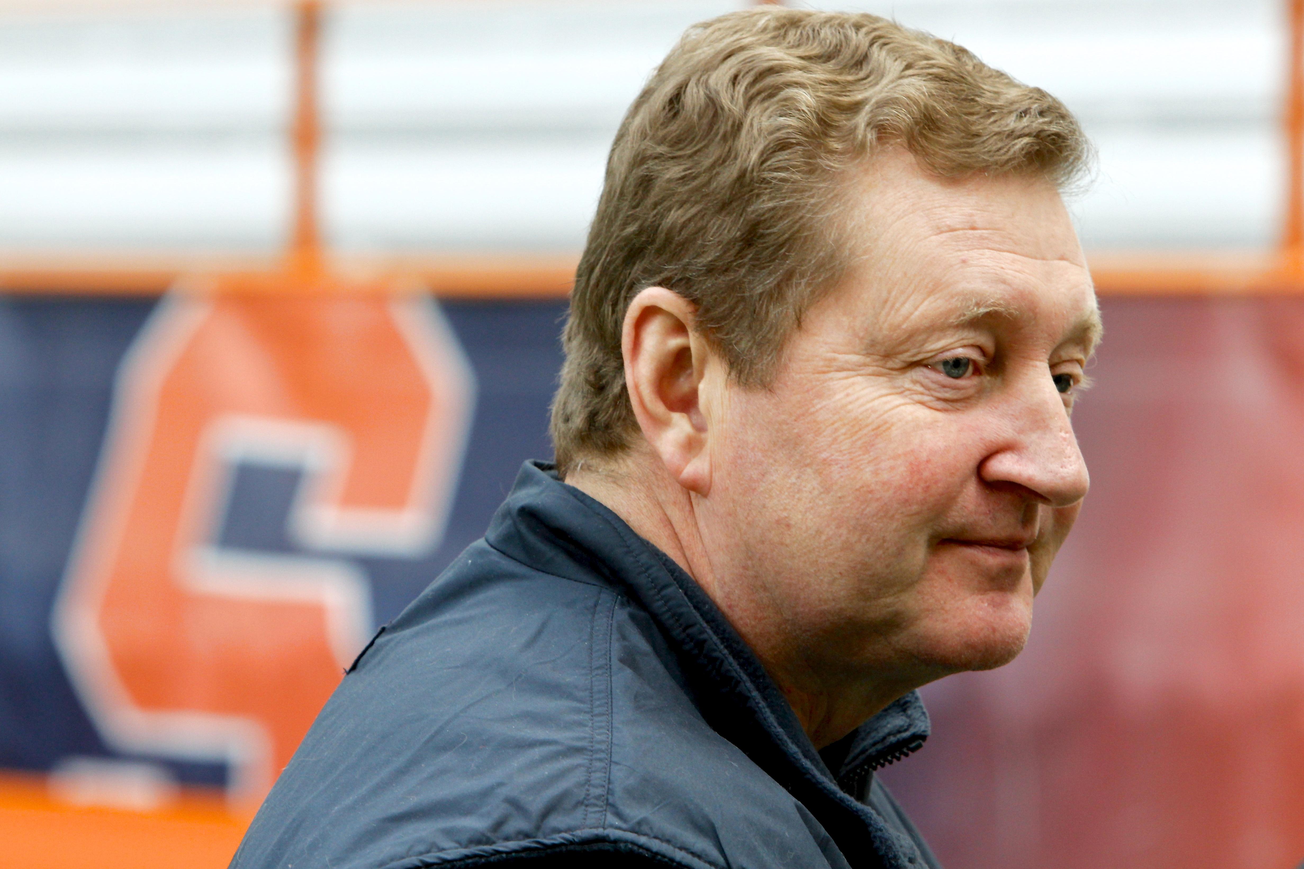 Syracuse University men's lacrosse coach John Desko.
