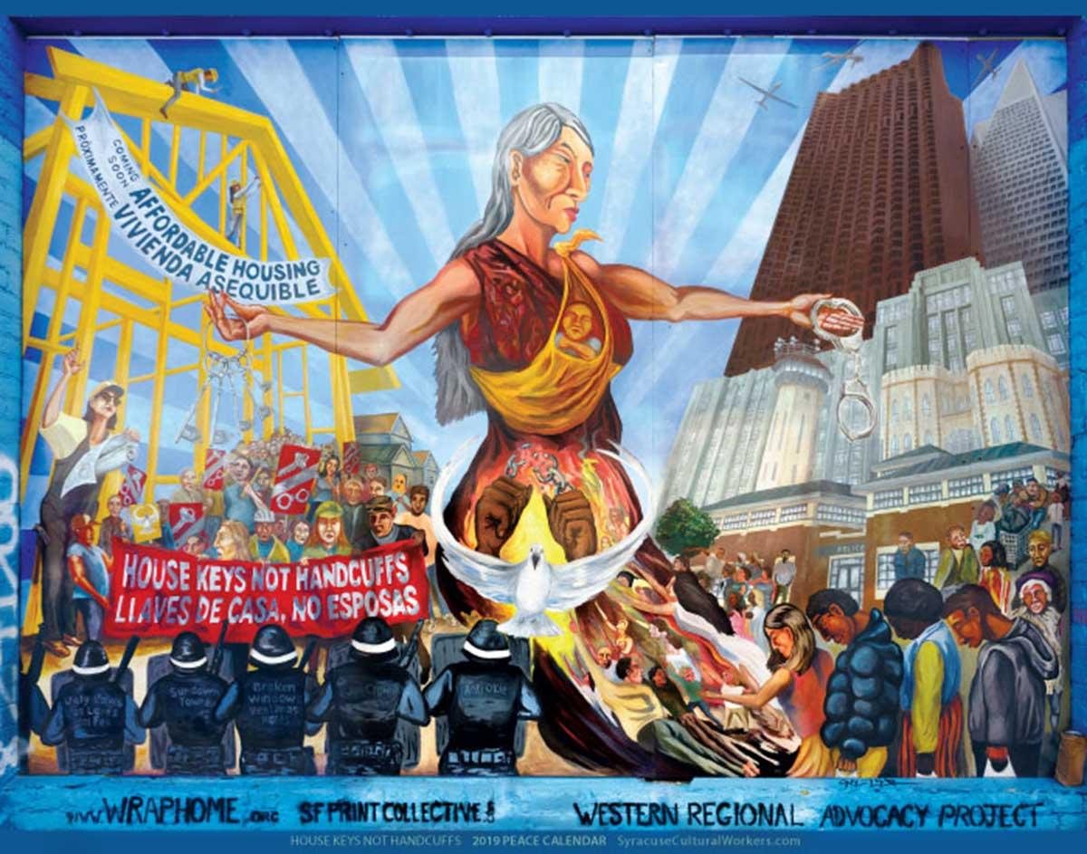 Syracuse Calendar.Latest Syracuse Cultural Workers Calendar Highlights Provocative Images
